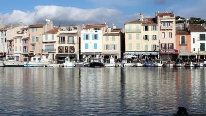 Quai du port de pêche de Cassis