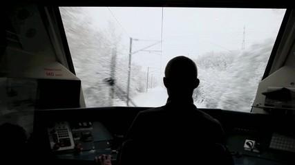 train sous la neige 1