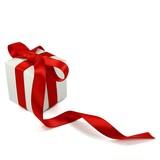 Fototapety Weißes Geschenk