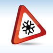 attention neige