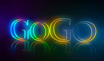 3D Typografie GoGo