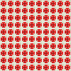 Vector ceramic seamless tiles