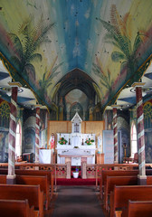 "Painted Church ""St. Benedict's"" (Keokea, Hawaii)"