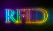 3D Typografie RFID
