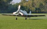 WWII restored fighter: Yakovlev Yak-50 poster