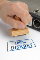 100% Diskret