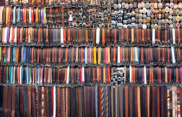 Vendita di cinture artigianali fiorentine