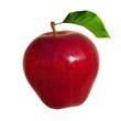 Pomme detourée.