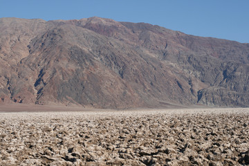 Devil's Golf Course Death Valley California