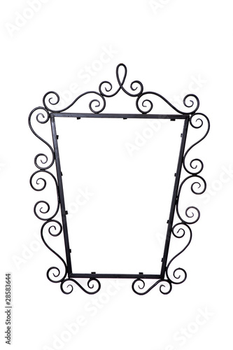 romantic metal frame