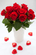 red roses and chocolate
