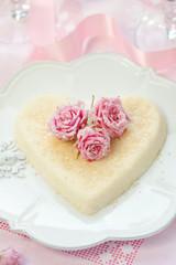 Ricotta heart