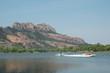 ski nautique sur le lac de l'Aréna à Roquebrune sur Argens - 28589094