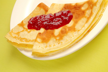Crêpes à la confiture série marketing 5 sur 5
