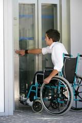 Handicap ascenseur