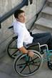 Handicap escalier