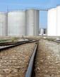Erdöl Tanks - Öllager