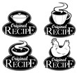 Original Recipe Seals in Black