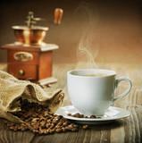 Fototapeta kawa - filiżanka - Kawa / Herbata / Czekolada