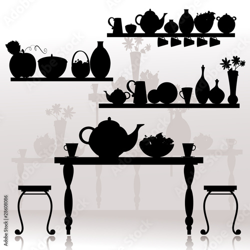 Fototapeta dining room
