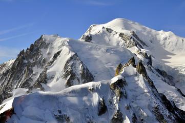 Neige et Mont-Blanc