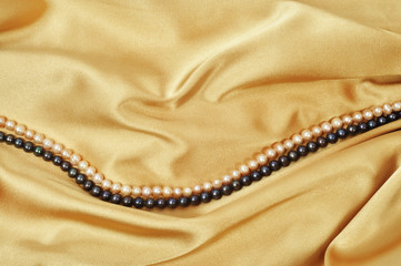 Silk and pearls