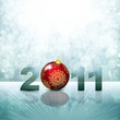 Magic winter background. Abstract vector background