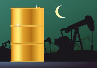 BARIL_Puis de petrole