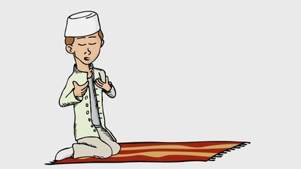 Praying Boy II