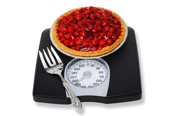 Control your weight with cherry pie.