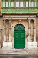 house doorway  at Malta