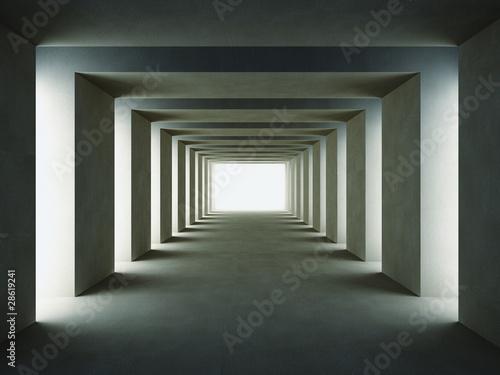 ciemna-kolumnada-w-nowoczesnym-stylu-3d