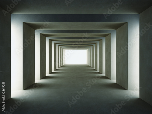 Fototapeta dark way