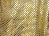 Art design fabric gold in Thailand