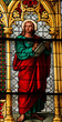 Saint John the Evangelist - Church window in the Dom of Cologne.