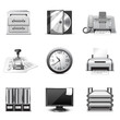 Office icons | B&W series