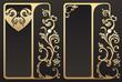 Vintage gold frames