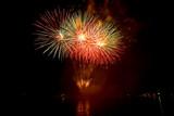 Fototapety Beautiful fireworks