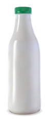 a milk bottle