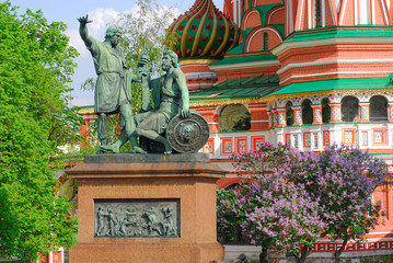 Monument to Minin and Pozharsky on Red Square