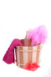 Pink Bathing Accessories