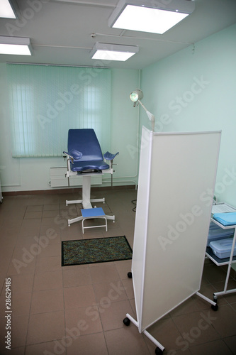 examination room of the gynecologist