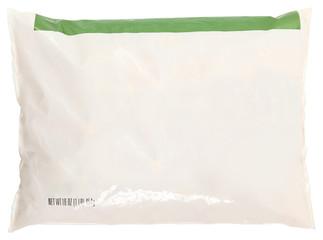 Grocery Bag Blank Label Frozen Food
