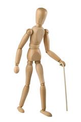 wooden toy man