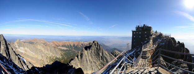 Lomnitzer Spitze Observatory - Hohe Tatra