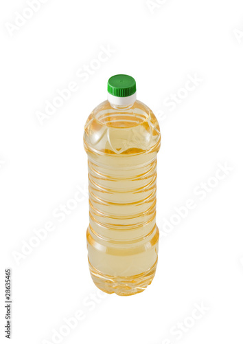 Bottle Of Vegetable Oil