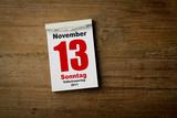13 November poster