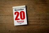 totensonntag 20 November 2011 poster