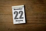 22 November poster