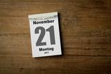 21 November poster